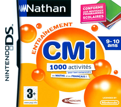Nathan Entrainement CM1 DS coverM (BN5F)