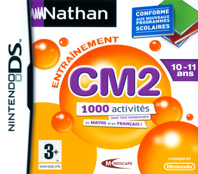 Nathan Entrainement CM2 DS coverM (BN6F)