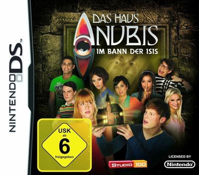 Das Haus Anubis - Im Bann der Isis DS coverM (BNED)