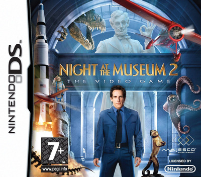 Night at the Museum 2 - The Video Game DS coverM (BNMX)