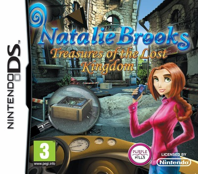 Natalie Brooks - Treasures of the Lost Kingdom DS coverM (BNPP)