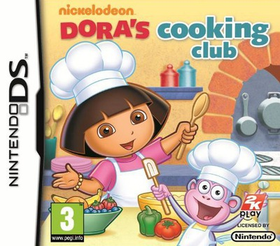 Dora's Cooking Club DS coverM (BNUP)