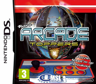 Retro Arcade Toppers DS coverM (BNZP)