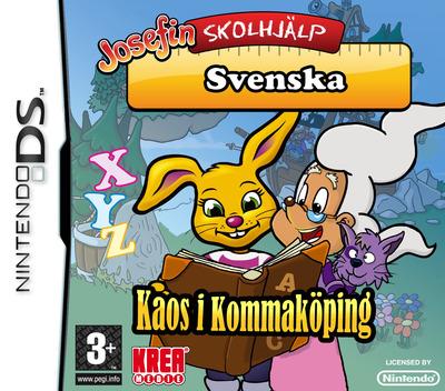 Josefin Skolhjälp - Svenska - Kaos i Kommaköping DS coverM (BP8M)