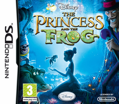 The Princess and the Frog DS coverM (BPFP)