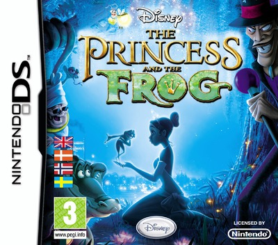 The Princess and the Frog DS coverM (BPFY)