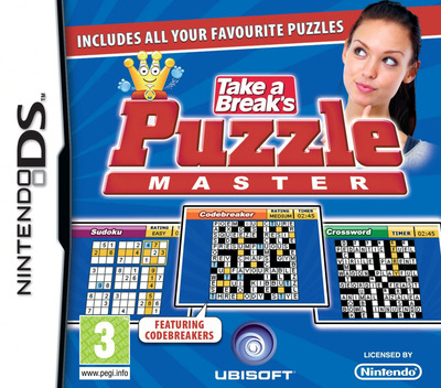 Take a Break's Puzzle Master DS coverM (BPJP)