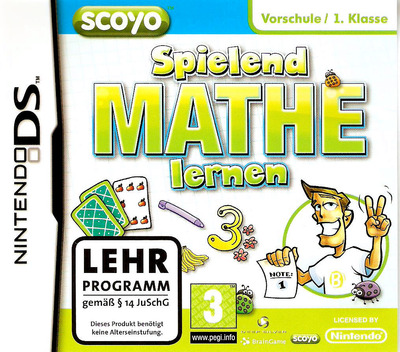 Spielend Mathe Lernen DS coverM (BSED)
