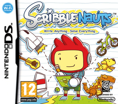 Scribblenauts DS coverM (BSLX)