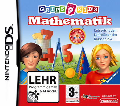 GripsKids - Mathematik DS coverM (BSMP)