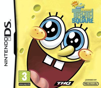 SpongeBob - SpongeBob's Truth or Square DS coverM (BSOP)