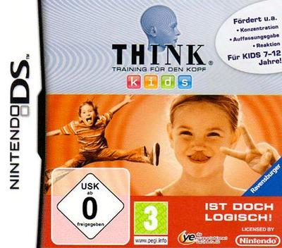 Think - Training für den Kopf - Kids - Ist Doch Logisch! DS coverM (BTHD)