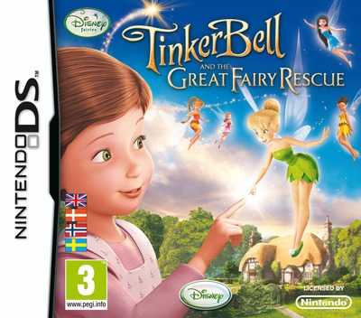 Tinker Bell and the Great Fairy Rescue DS coverM (BTUY)