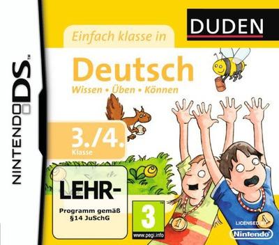 Duden - Einfach Klasse in Deutsch - 3. und 4. Klasse DS coverM (BU4D)