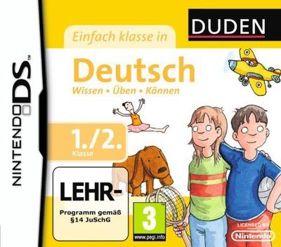 Duden - Einfach Klasse in Deutsch - 1. und 2. Klasse DS coverM (BU5D)