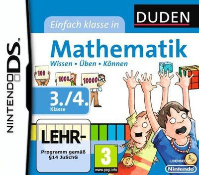 Duden - Einfach Klasse in Mathematik - 3. und 4. Klasse DS coverM (BU6D)