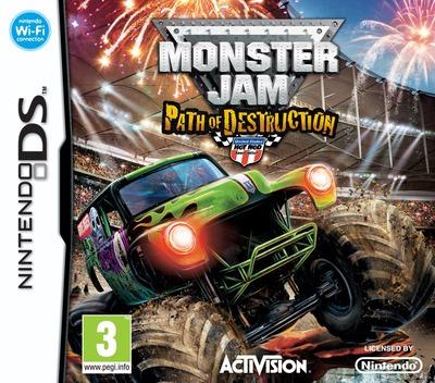Monster Jam - Path of Destruction DS coverM (BUJP)