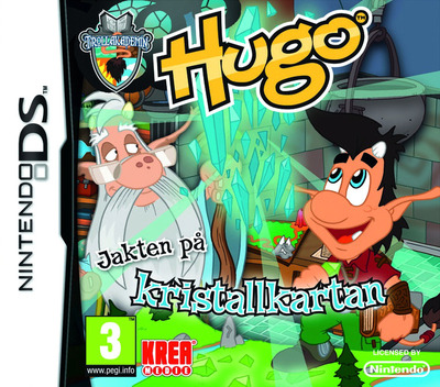 Hugo - Trollakademin 2 - Jakten på Kristallkartan DS coverM (BUOX)