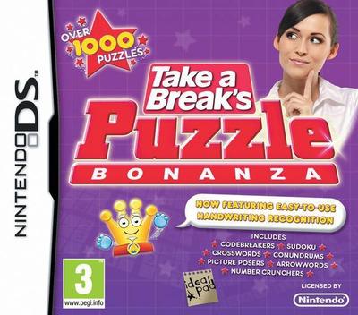 Take a Break's Puzzle Bonanza DS coverM (BVAP)
