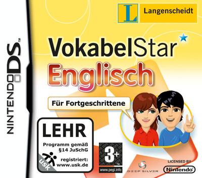 Langenscheidt VokabelStar Englisch für Fortgeschrittene DS coverM (BVKP)