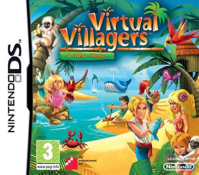 Virtual Villagers - A New Home DS coverM (BVVP)