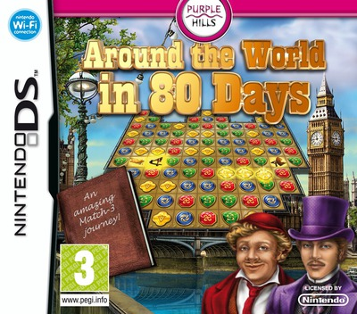 Around the World in 80 Days DS coverM (BW8P)