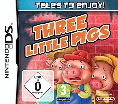 Tales to Enjoy! - The Three Little Pigs DS coverM (BX4P)