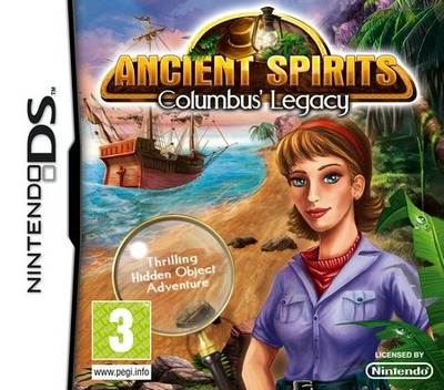 Ancient Spirits - Columbus' Legacy DS coverM (BXCP)