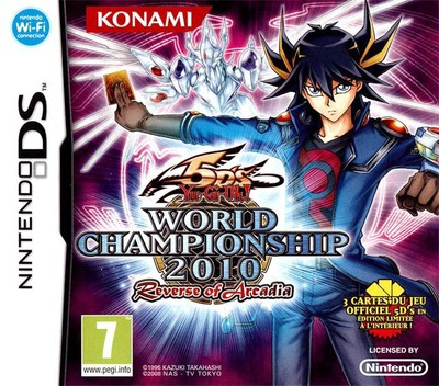 Yu-Gi-Oh! 5D's - World Championship 2010 - Reverse of Arcadia DS coverM (BYXP)