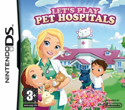 Let's Play Pet Hospitals DS coverM (C2HP)