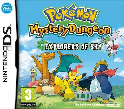 Pokémon Mystery Dungeon - Explorers of Sky DS coverM (C2SP)