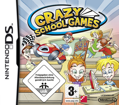 Crazy School Games DS coverM (C2ZP)
