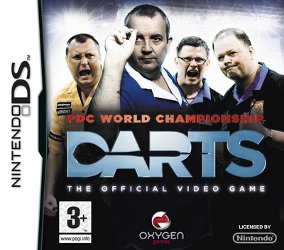 PDC World Championship Darts - The Official Video Game DS coverM (C3DP)
