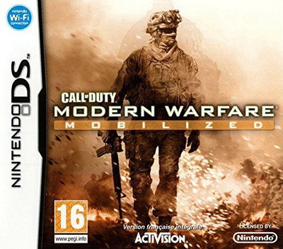 Call of Duty - Modern Warfare - Mobilized DS coverM (C62F)