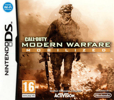 Call of Duty - Modern Warfare - Mobilized DS coverM (C62P)