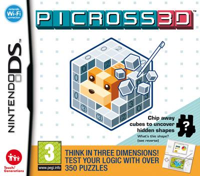 Picross 3D DS coverM (C6PP)