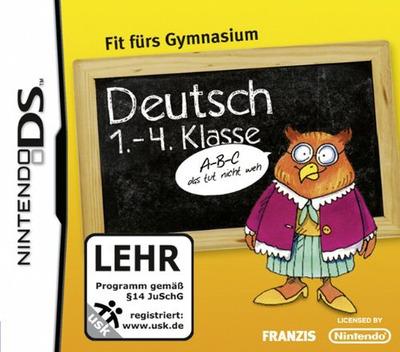 Deutsch 1.-4. Klasse - Fit fuers Gymnasium DS coverM (C6ZD)