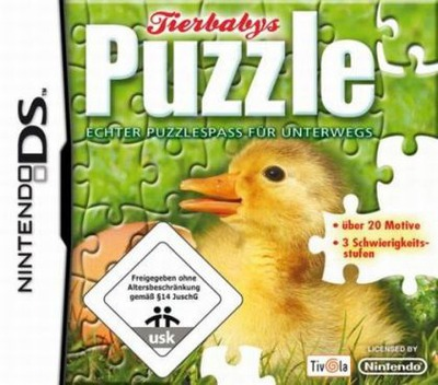 Puzzle - Baby Animals DS coverM (C72P)