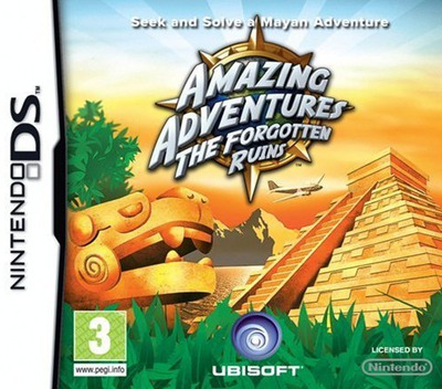 Amazing Adventures - The Forgotten Ruins DS coverM (CA7P)