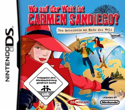 Wo auf der Welt Ist Carmen Sandiego - Das Geheimnis am Ende der Welt DS coverM (CAGX)