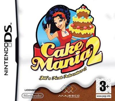 Cake Mania 2 - Jill's Next Adventure! DS coverM (CAKX)