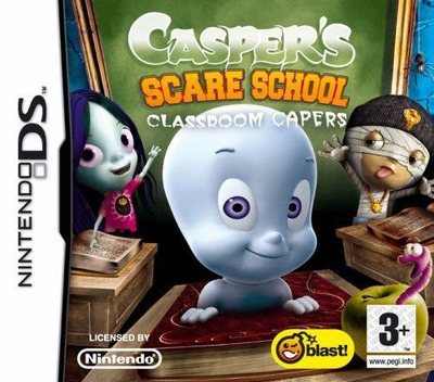 Casper's Scare School - Classroom Capers DS coverM (CASP)