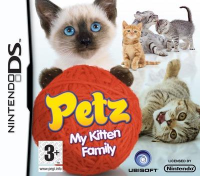Petz - My Kitten Family DS coverM (CATP)