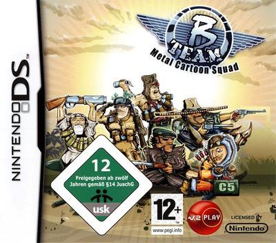 B Team - Metal Cartoon Squad DS coverM (CB3P)