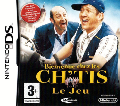 Bienvenue Chez les Ch'tis - Le Jeu DS coverM (CBWF)