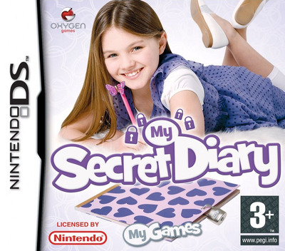 My Secret Diary DS coverM (CCDP)