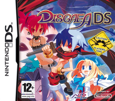 Disgaea DS DS coverM (CDGP)