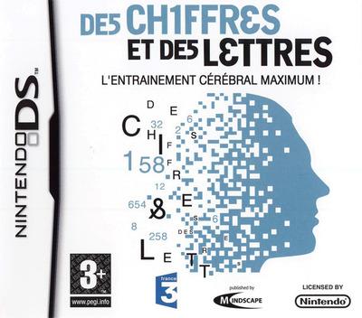 Chiffres et des Lettres, Des - L'Entrainement Cerebral Maximum! DS coverM (CDMF)
