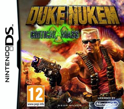 Duke Nukem - Critical Mass DS coverM (CDNP)