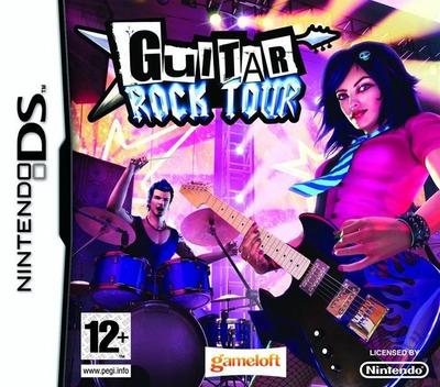 Guitar Rock Tour DS coverM (CG6P)
